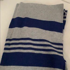 Cashmere striped scarf